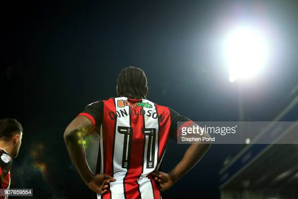 Clayton Donaldson of Sheffield United during the Sky Bet Championship match between Norwich City and Sheffield United at Carrow Road on January 20...