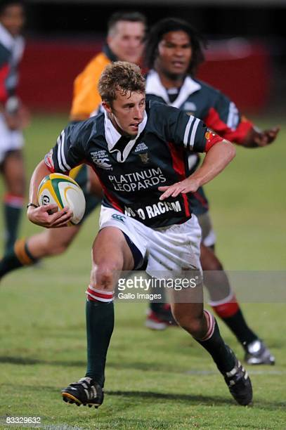 Clayton Durand during the Absa Currie Cup Promotion and Relegation match between Valke and Platinum Leopards held at Bosman Stadium on October 17,...