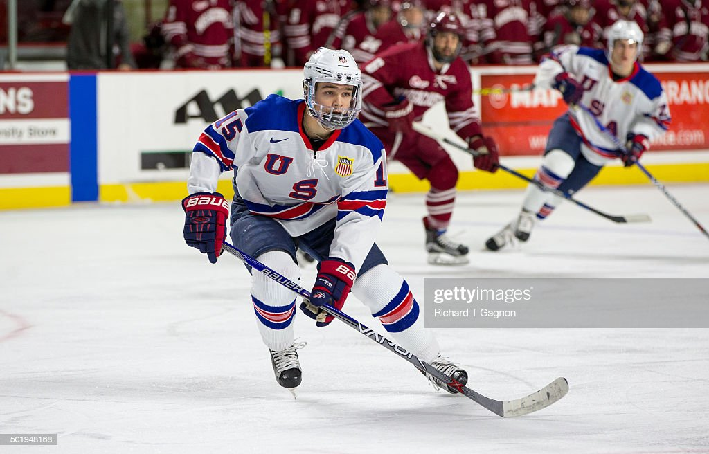 USA Hockey Junior Team Exhibition : News Photo