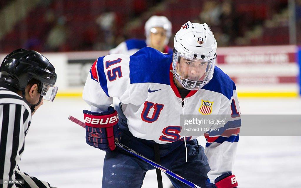 USA Hockey Junior Team Exhibition : News Photo