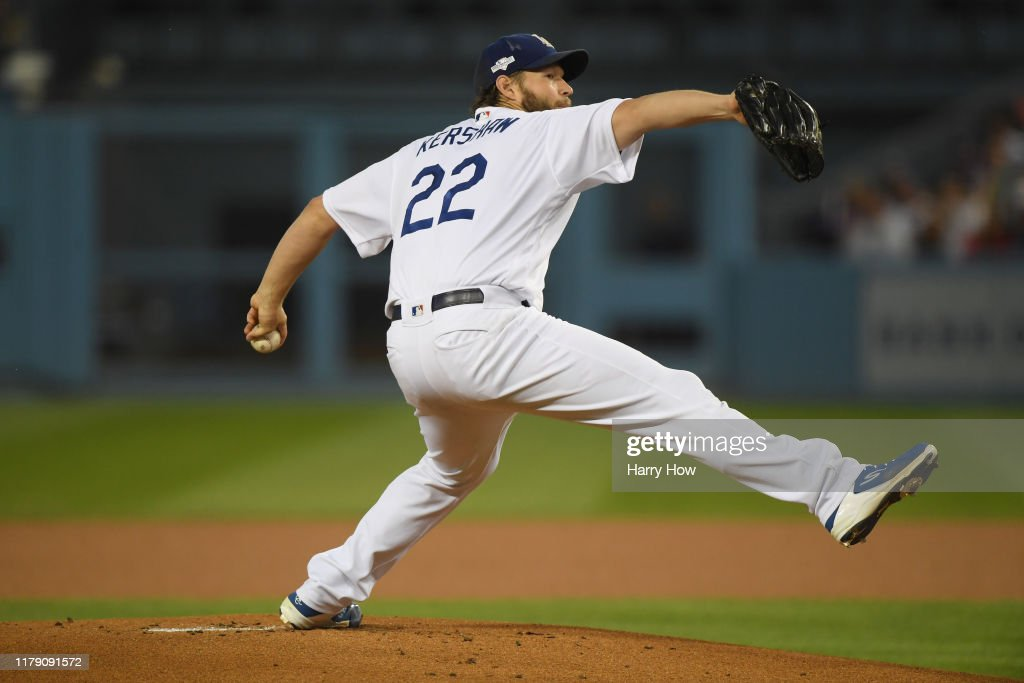 Divisional Series - Washington Nationals v Los Angeles Dodgers - Game Two : News Photo