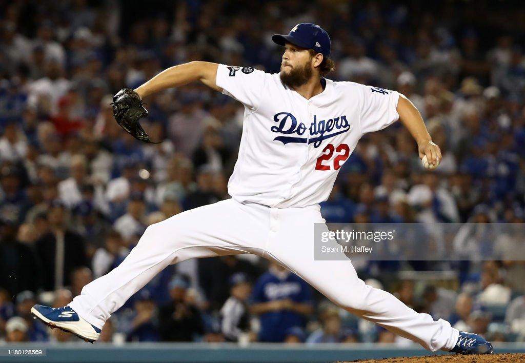 Divisional Series - Washington Nationals v Los Angeles Dodgers - Game Five : News Photo