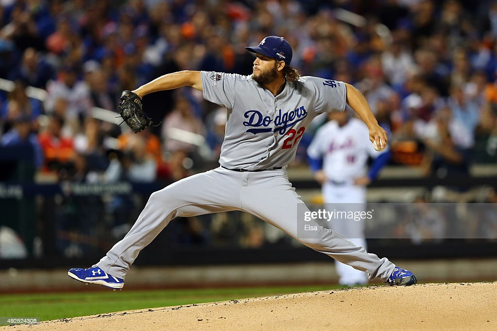 Division Series - Los Angeles Dodgers v New York Mets - Game Four : News Photo