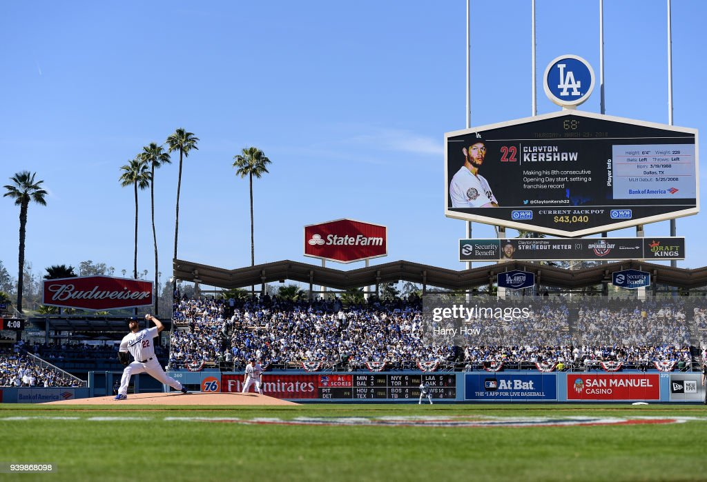 San Franciso Giants  v Los Angeles Dodgers : News Photo