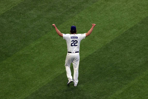 TX: World Series - Tampa Bay Rays v Los Angeles Dodgers - Game One