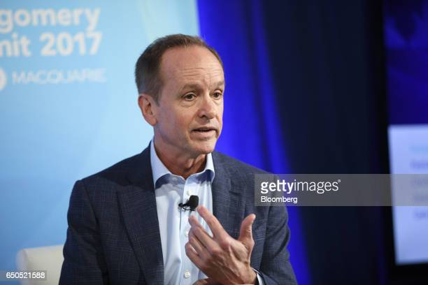 Clayton Lewis chief executive officer of Arivale Inc speaks during the Montgomery Summit in Santa Monica California US on Thursday March 9 2017 The...