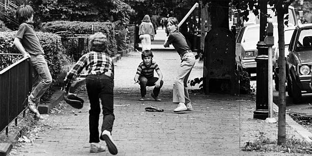 Image result for images of pickup baseball game
