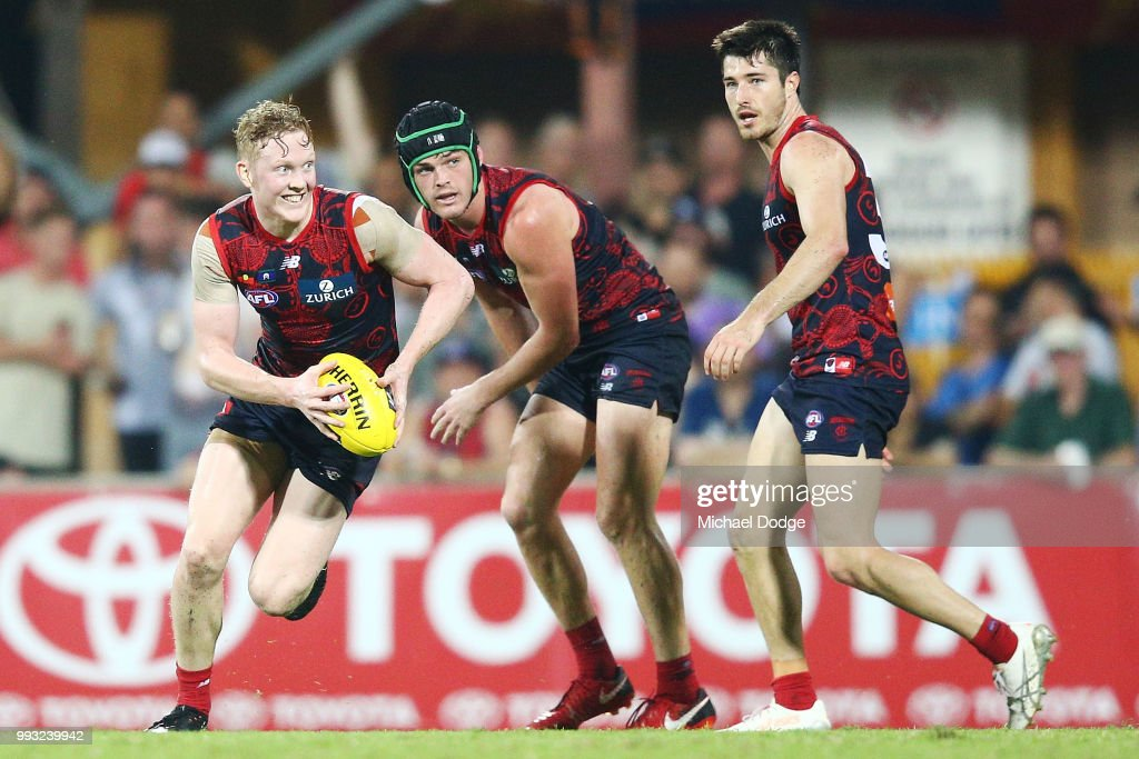 AFL Rd 16 - Melbourne v Fremantle : News Photo