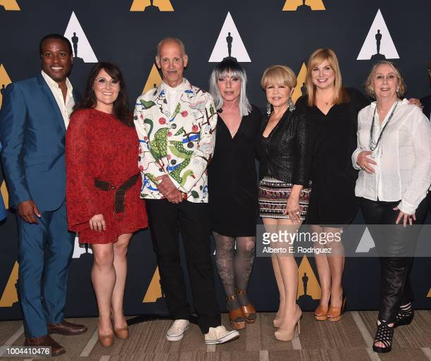 Clayton Prince Ricki Lake John Waters Deborah Harry Pia Zadora Colleen Fitzpatrick and Mink Stole attend the Academy Presents Hairspray 30th...
