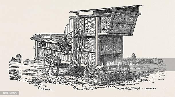Clayton Shuttleworth And Co's Threshing Machine