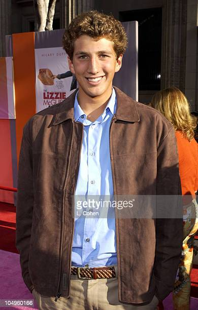 Clayton Snyder during The Lizzie McGuire Movie Premiere at The El Capitan Theater in Hollywood California United States