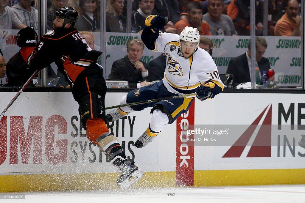 Nashville Predators v Anaheim Ducks - Game Seven : News Photo