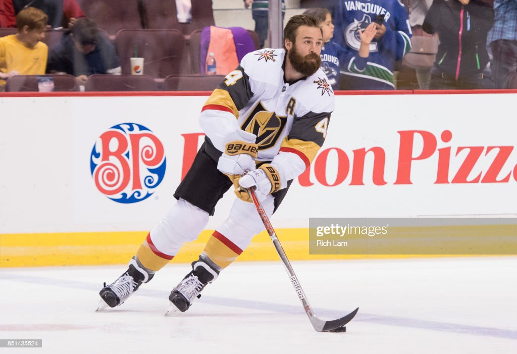 Clayton Stoner of the Vegas Golden Knights skates before a game ... 954f5b664