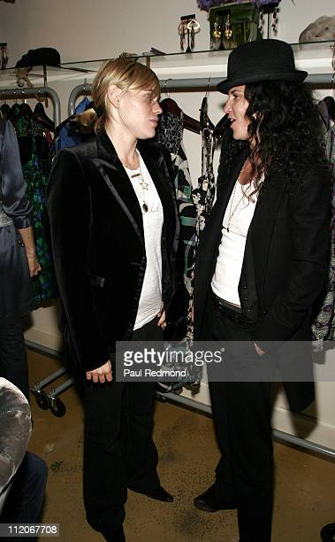 Clea DuVall and Amanda Demme during Some Odd Rubies West Coast Store Opening Hosted by Gran Centenario Tequila at Some Odd Rubies on Hillhurst in Los...