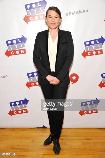 Clea Duvall at Politicon at Pasadena Convention Center on July 30 2017 in Pasadena California