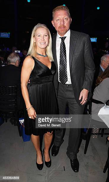 Clea Newman and Boris Becker attend the SeriousFun London Gala 2013, benefiting a growing community of camps and programs serving children with...