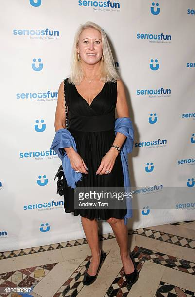 Clea Newman attends the Seriousfun Children's Network 2014 New York City gala at Cipriani 42nd Street on April 2 2014 in New York City