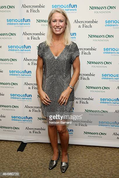 Clea Newman, Director of Special Initiatives for SeriousFun Children's Network attends SeriousFun Children's Network 2015 New York Gala: An Evening...