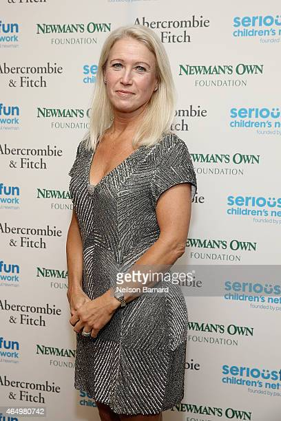 Clea Newman Director of Special Initiatives for SeriousFun Children's Network attends SeriousFun Children's Network 2015 New York Gala An Evening of...