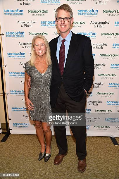 Clea Newman Director of Special Initiatives for SeriousFun Children's Network and Kurt Soderlund attend SeriousFun Children's Network's New York City...