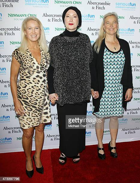 "Clea Newman, Susan Newman and Nell Newman arrive at an ""Evening of SeriousFun"" celebrating the legacy of Paul Newman held at Dolby Theatre on May 14,..."