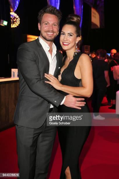 CleaLacy Juhn and boyfriend Sebastian Pannek during the 13th Live Entertainment Award 2018 at Festhalle Frankfurt on April 9 2018 in Frankfurt am...