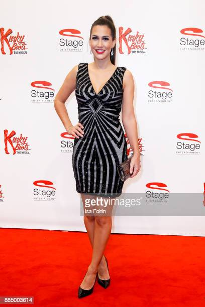 CleaLacy Juhn winner of the TV Show 'Der Bachelor' attends the 'Kinky Boots' Musical Premiere at Stage Operettenhaus on December 3 2017 in Hamburg...