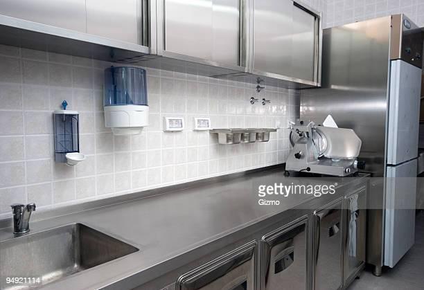 ホテルのキッチン