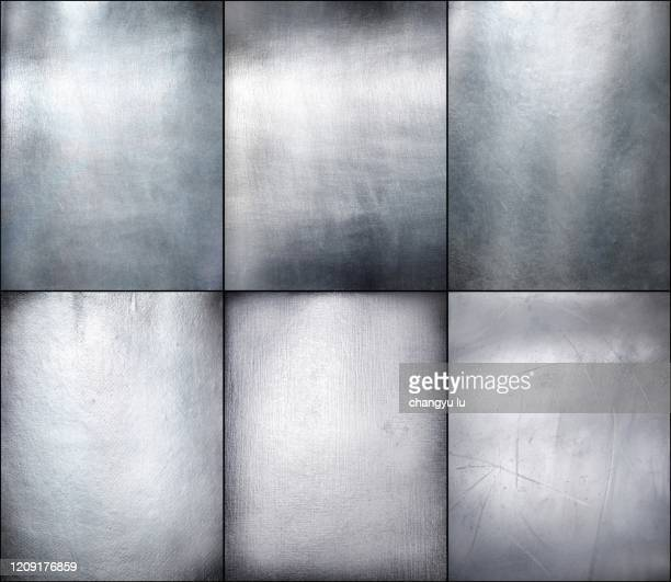 clean and tidy metal background - 鉄 ストックフォトと画像