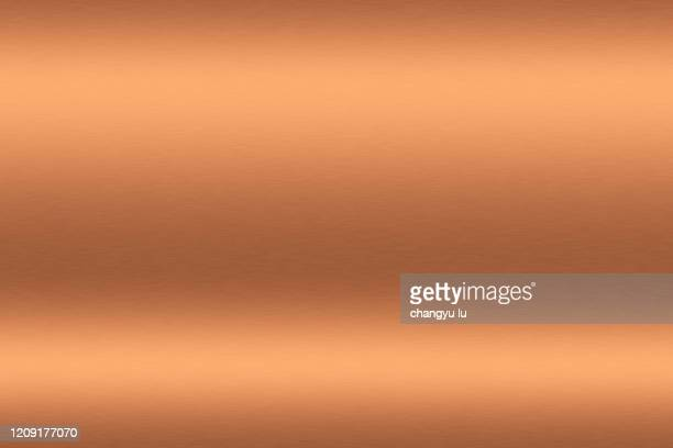 clean and tidy metal background - bronze alloy stock pictures, royalty-free photos & images