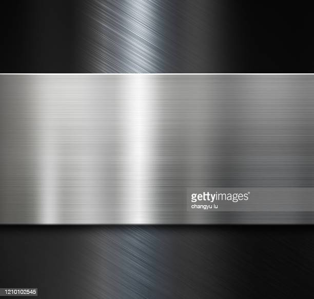 clean and tidy metal background - metallic stock pictures, royalty-free photos & images