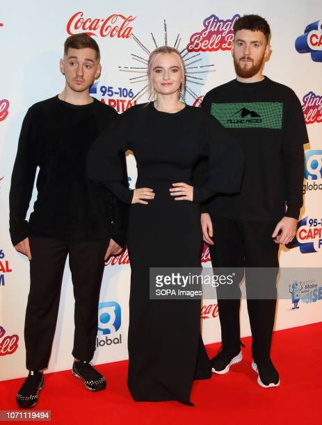 Clean Bandit at Capital's Jingle Bell Ball with CocaCola during day two at The O2 Peninsula Square