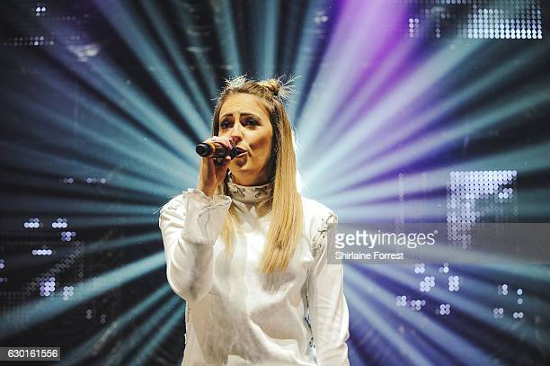 Clean Bandit perform at Radio City Christmas Live at Echo Arena on December 17 2016 in Liverpool England