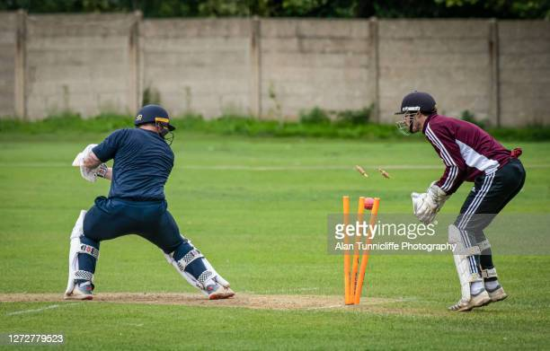 clean bowled - dismissal cricket stock pictures, royalty-free photos & images