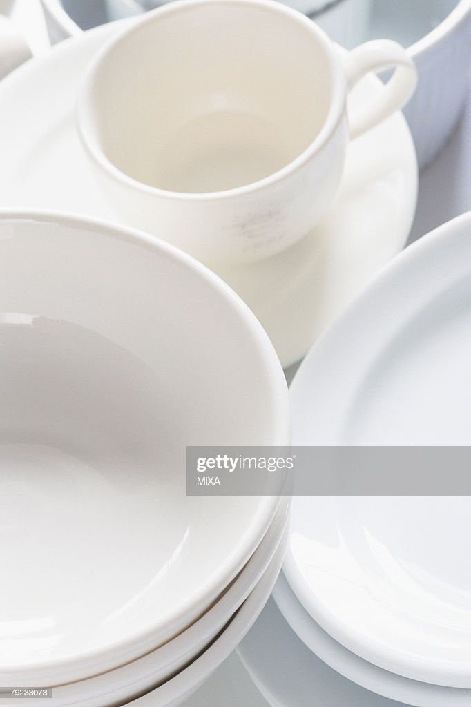 Clean dishes : Stock Photo
