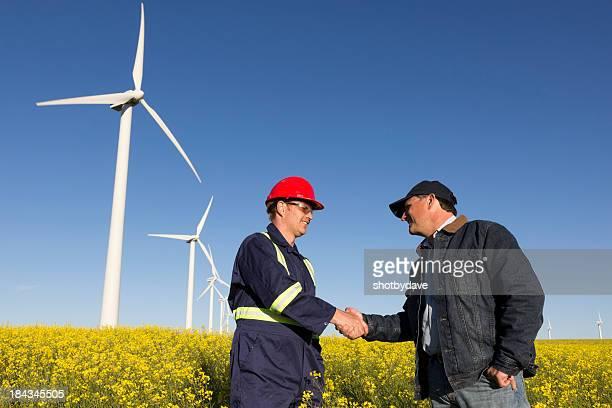 Clean Energy Handshake