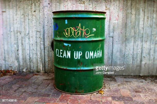 clean omaha - oil barrel stock pictures, royalty-free photos & images