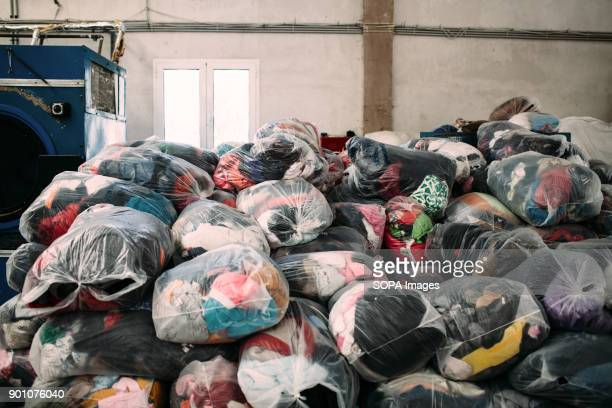 Clean piled clothes ready to be reused Dirty Girls of Lesbos is a volunteer group born in September 2015 by the idea of Alison TerryEvans The...