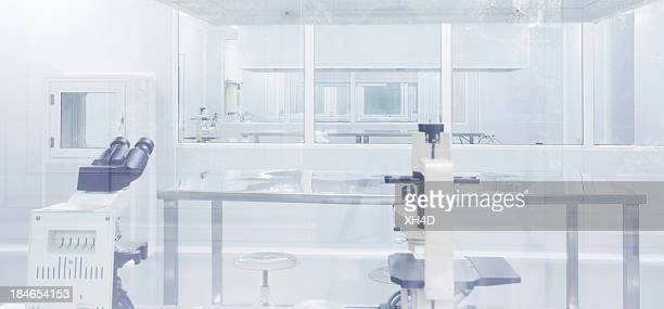 clean room in laboratory