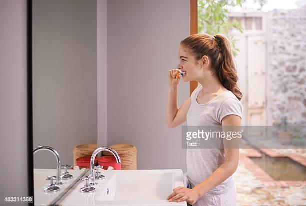 Saubere Zähne, frische Luft