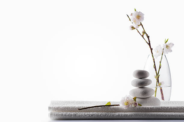 Clean White Spa Background Wall Art