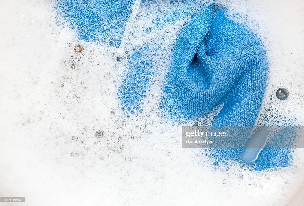 Cleaning accessories : Stock Photo