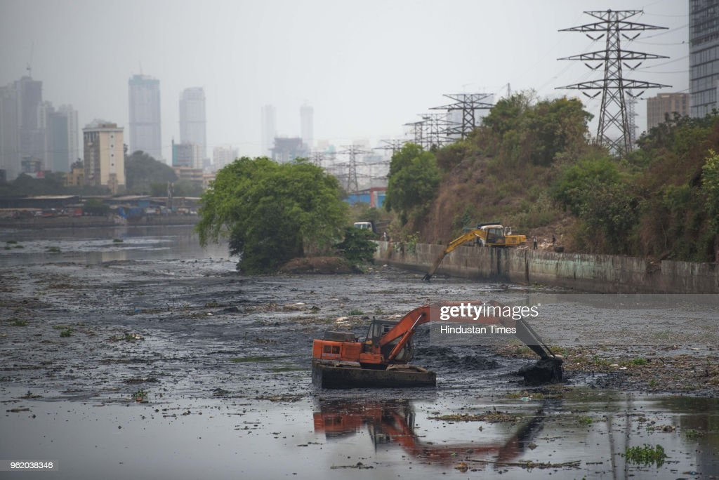 Cleaning Of Mithi River