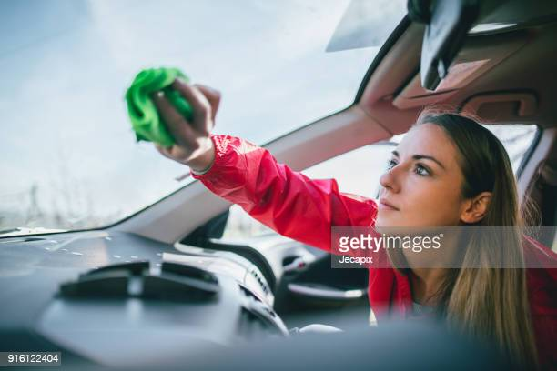 cleaning car interior - car interior stock pictures, royalty-free photos & images
