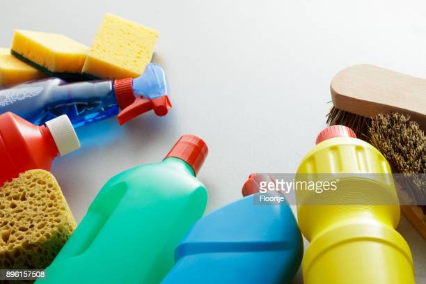 Cleaning: Cleaning Products Still Life