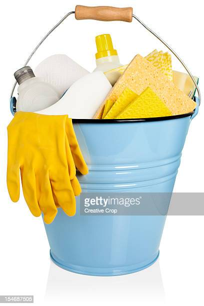 cleaning equipment, gloves - daily bucket stock pictures, royalty-free photos & images