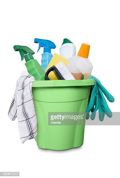 cleaning equipment - bucket stock pictures, royalty-free photos & images