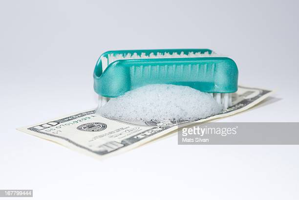 Cleaning money