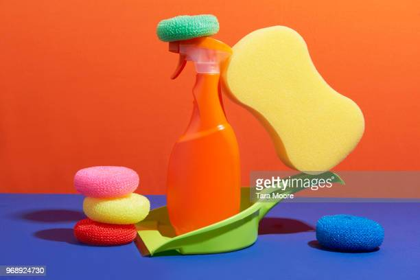 cleaning products - manufactured object stock pictures, royalty-free photos & images
