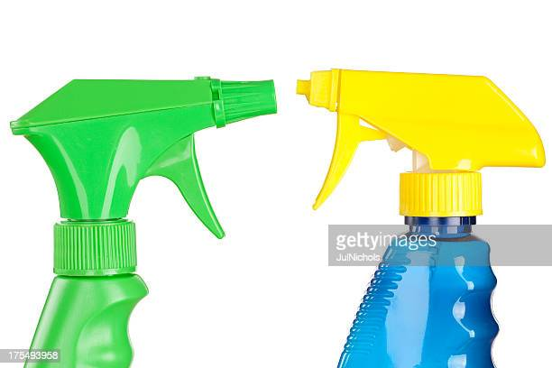 Cleaning Products Spray Bottles
